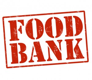 Food bank stamp